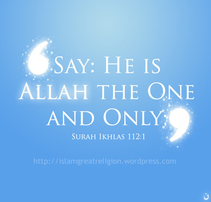 who is allah according to quran Behold the angels said: o mary allah giveth thee glad tidings of a word from  him: his name will be christ jesus, the son of mary, held in honour in this world.